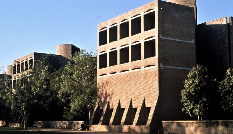 Louis Kahn-Designed Dorms in India May Be Razed