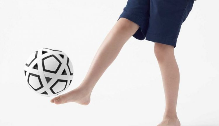 Nendo Launches DIY Non-Inflatable Soccer Ball for Kids in Impoverished