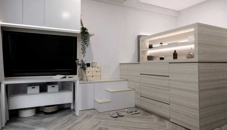 A Tiny Apartment in Jakarta With a Neutral Palette and