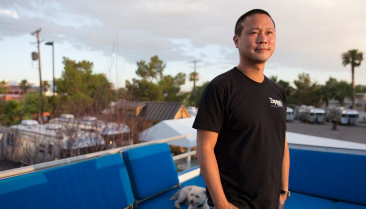 Tony Hsieh's Last Night: An Argument, Drugs, a Locked Door