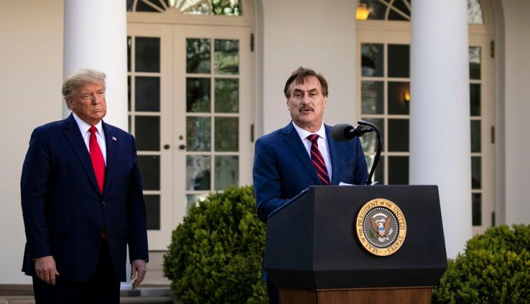 Three false claims about the election made in Mike Lindell's