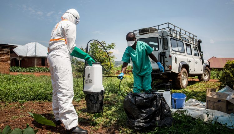 WHO races to contain Ebola in the DRC as it