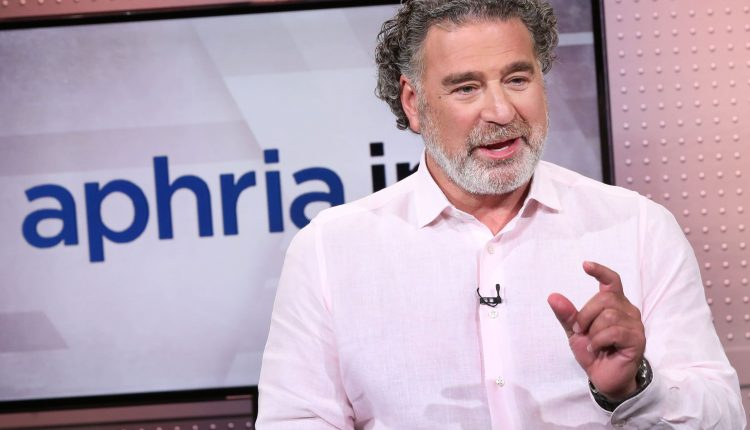 Aphria CEO hopes to see weed fully legalized in U.S.