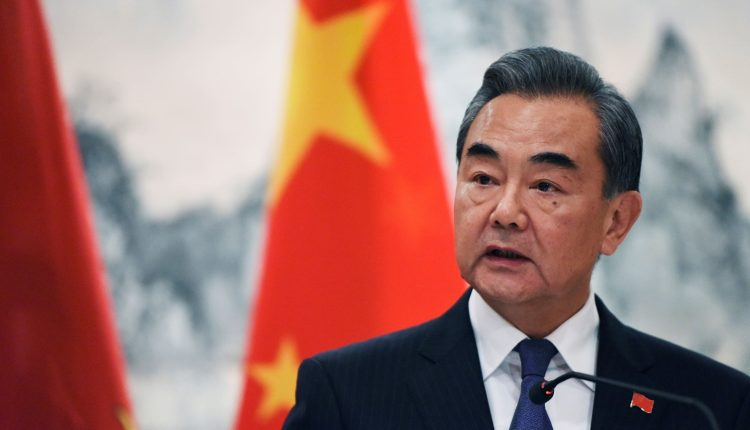 China's foreign minister calls for U.S. to remove tariffs sanctions