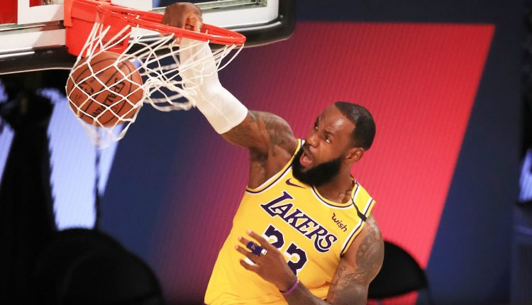 Lakers hire agency Sportfive to find new jersey sponsor, valued