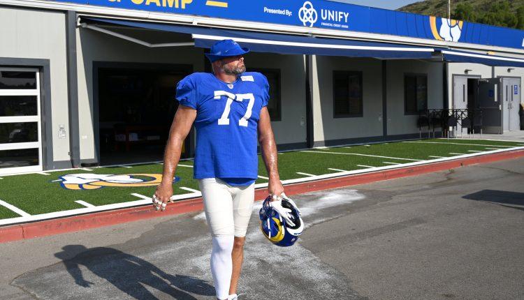 NFL star Andrew Whitworth has big plans to help bridge