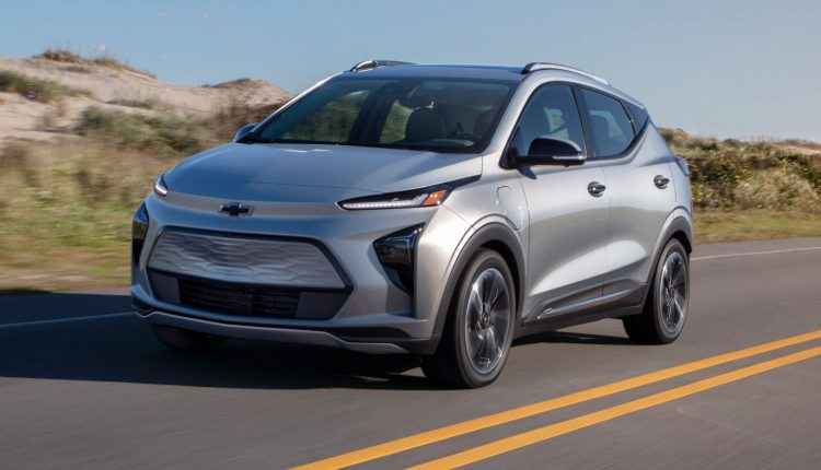 GM unveils all-electric Chevy Bolt EUV and redesigned, less-expensive Bolt