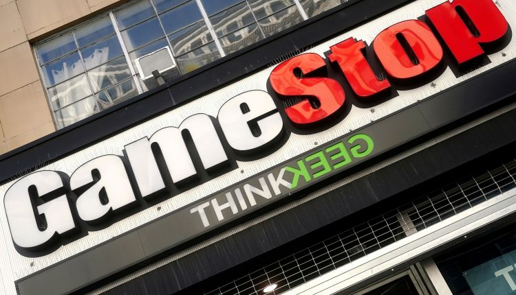 GameStop stock soars more than 100% in late-afternoon trading