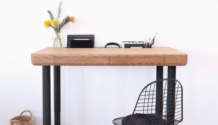Otelier Height-Adjustable Tables Elevate the Standing Desk for Home