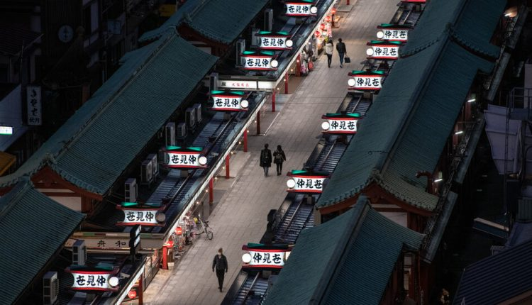 Japan's Economy Surges, but Covid-19 Looms