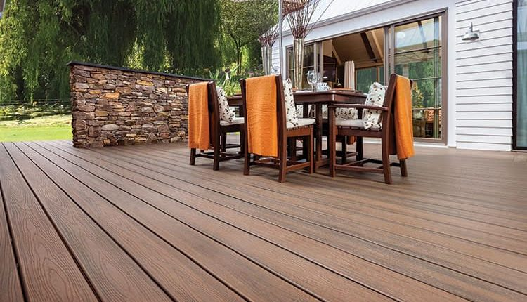 Demand for composite decking is rising thanks to a DIY