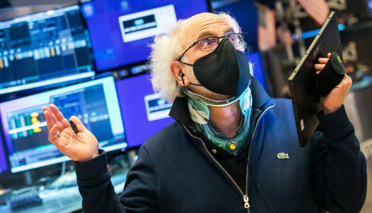 Dow futures fall 100 points after a steep sell-off on