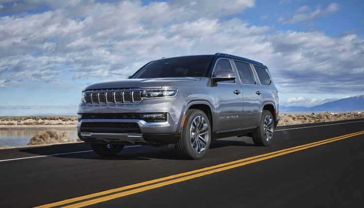 Jeep unveils long-awaited Grand Wagoneer SUV topping $111,000