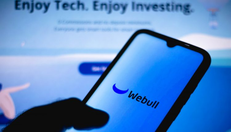 Stimulus checks spur 'pretty substantial' activity at Webull: CEO