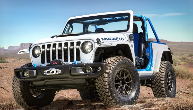 Jeep unveils all-electric Wrangler concept SUV