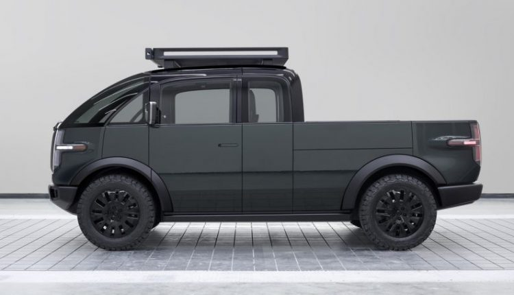 The Canoo Electric Pickup Truck Is Everything the Tesla Cybertruck