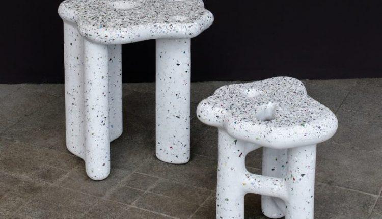 Studio HAK's Terrazzo-Like Debris Series Is Made From Plastic and