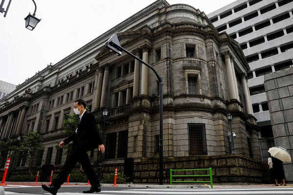 Bank of Japan Will Relax Its Market Stimulus: Live Updates