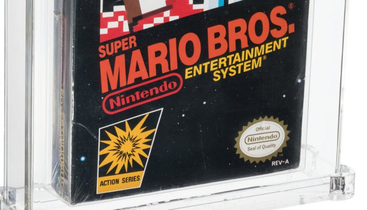 Forgotten Copy of Super Mario Bros. Sets Record at Auction