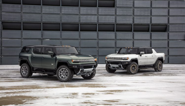 GM unveils electric Hummer SUV topping $110,000