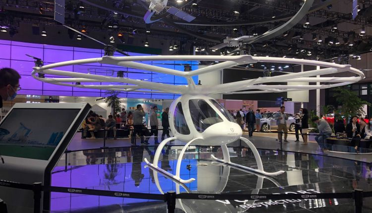 Shanghai China auto show flying cars; Buffett-backed BYD stays clear