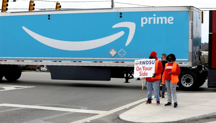 Labor board hearing on Amazon union election to start May