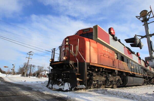 Canadian Rivals in Bidding War for U.S. Railroad: Live Updates