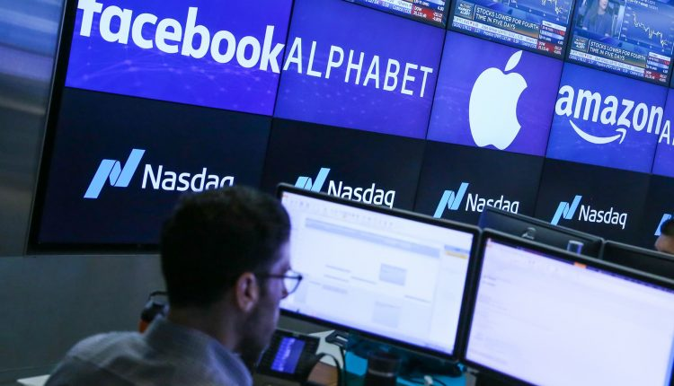 Nasdaq futures slip after a sell-off in Big Tech pushes