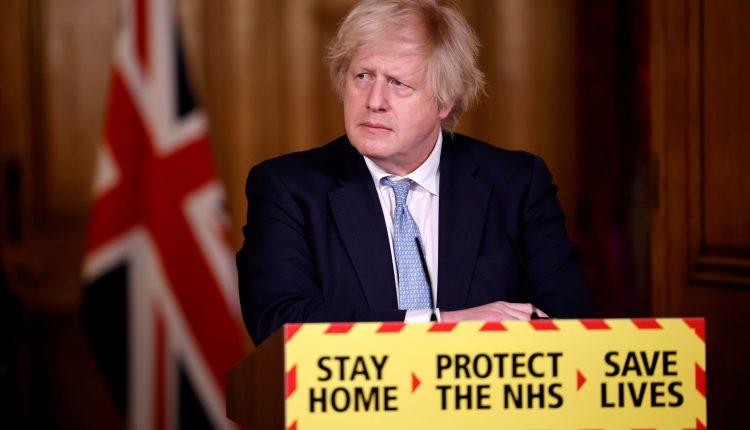 Hug with 'care and common sense,' Boris Johnson says