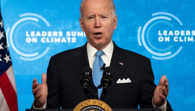 Biden orders climate change risk strategy to economy