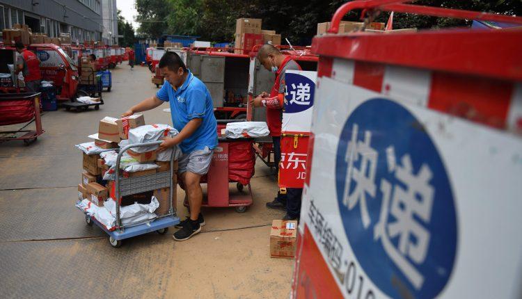 China Alibaba rival JD raises $12 billion via IPO stock