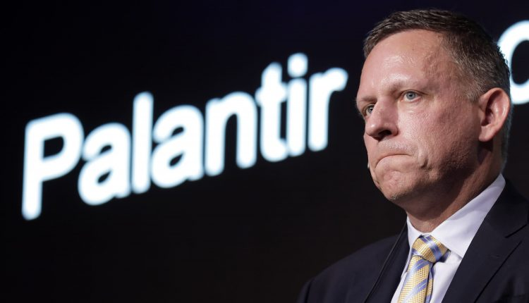 Campaign launched to get Peter Thiel's firm out of NHS