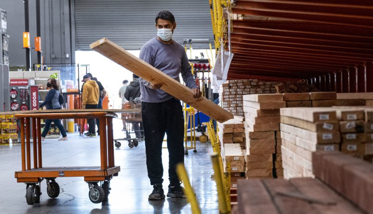 Lumber prices dive more than 40% in June, biggest monthly