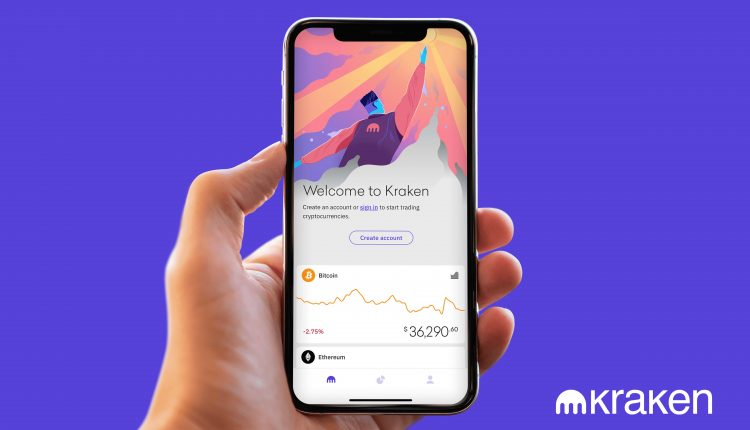 Kraken launched mobile app in U.S. for bitcoin and ethereum