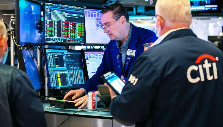 Stock index futures are little changed after Nasdaq closes at