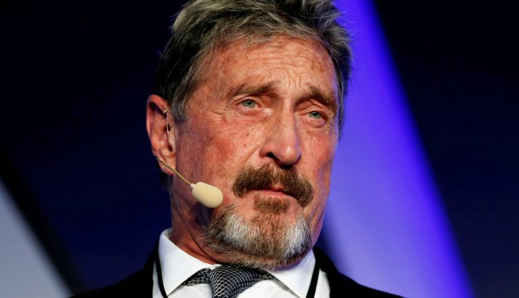 John McAfee dead of apparent suicide in Spanish jail after