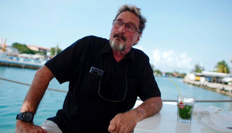 John McAfee Dies in Spanish Prison