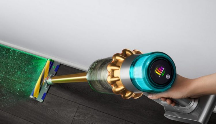 Dyson's Dust Detecting Vac + Synth in a Box