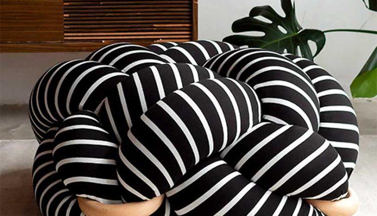 Knots Studio Adds a Soft Playful Twist to Cushions +