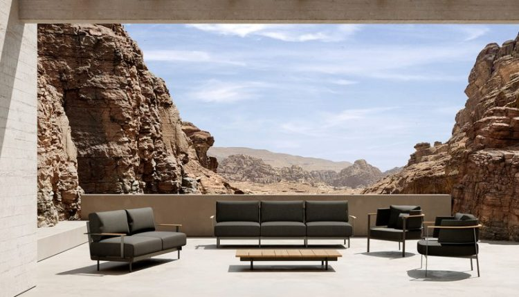 The PENDA Outdoor Furniture Collection Is Striking + Welcoming