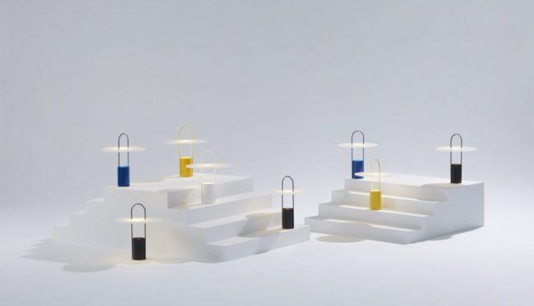 A Design Milk x hollis+morris Light