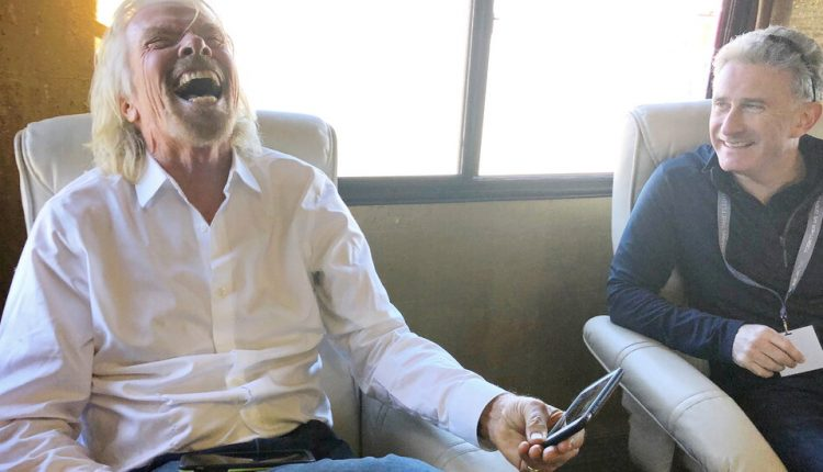 Richard Branson Will Try to Beat Jeff Bezos to Space