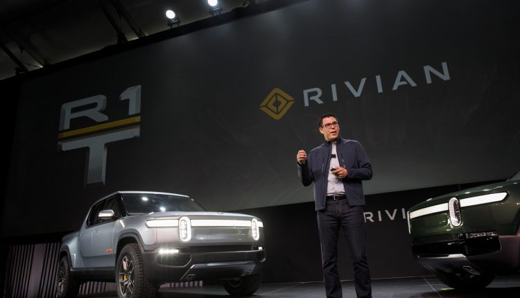 Rivian raises $2.5 billion in new funding round led by