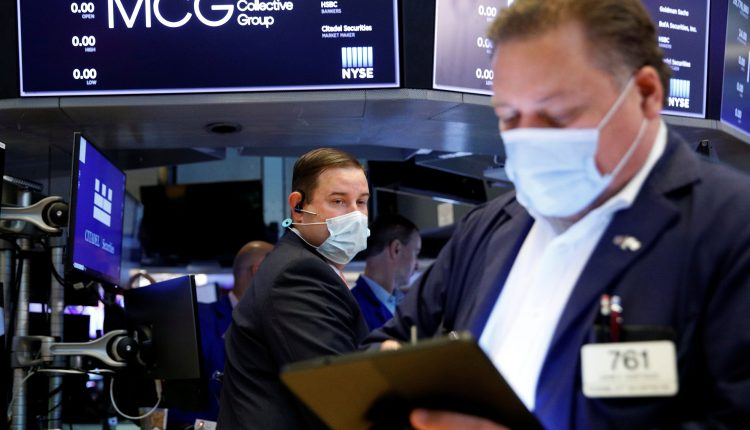Stock futures are flat after major averages turn positive for