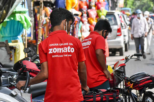 Shares of Indian food delivery start-up surge in debut