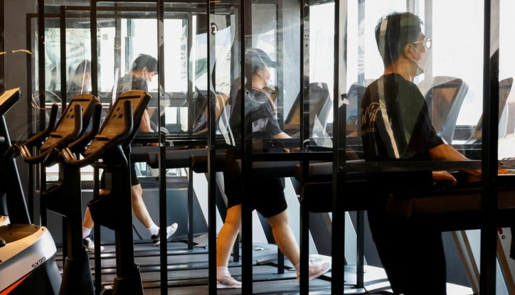 As Virus Cases Speed Up, Seoul Tells Gym Users to