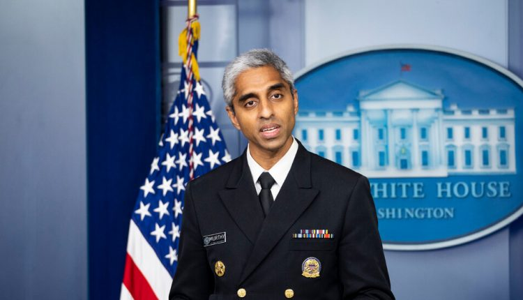 Surgeon General Assails Tech Companies Over Misinformation on Covid-19
