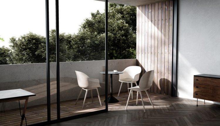 GamFratesi's Iconic Beetle + Bat Dining Chairs Meet the Great