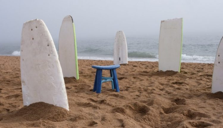 Harry Peck Solves the Environmental Problem of Surfing