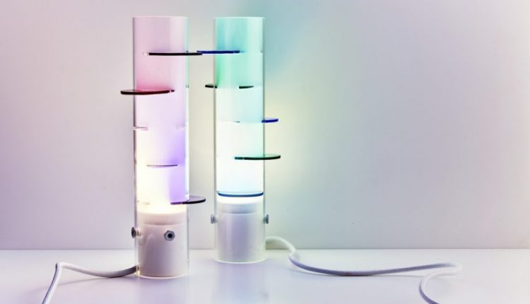 Oliver Vitry's Rainbow Lighting Is a Reflection on Philosophy +
